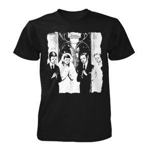 Siouxsie And The Banshees Black 'Join Hands' Graphic Print Short Sleeve Band Tee